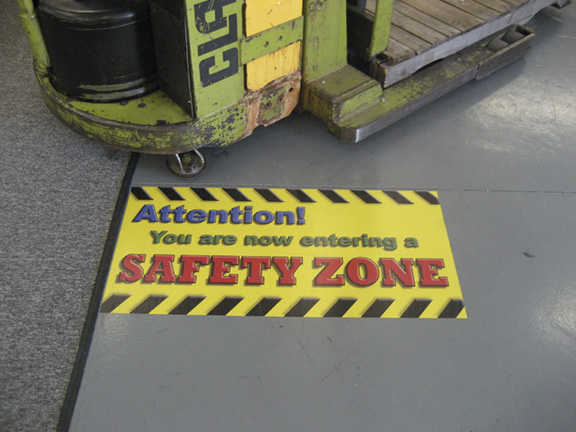 floor graphics safe
