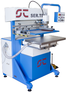 vacuum screen printing