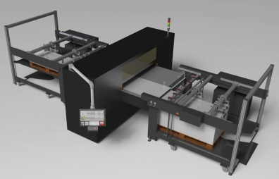 automatic industrial printing line